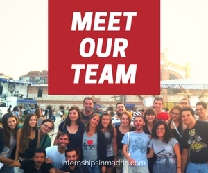 Your Internships in madrid team